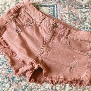 🌿🌺~~American Eagle Blush shorts~~🌺🌿